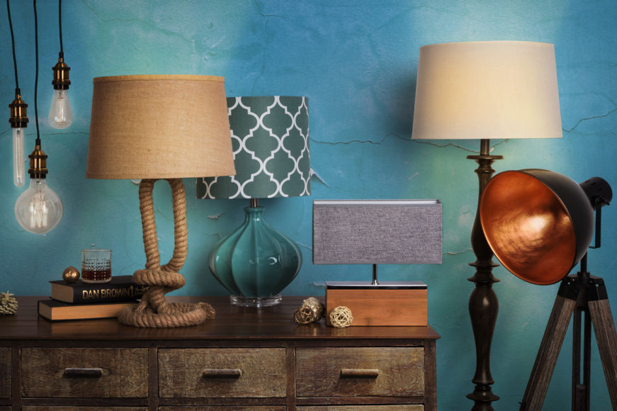 Contemporary Lamps & Globes