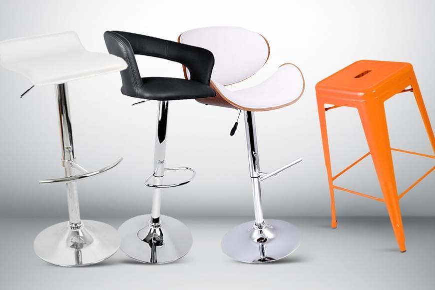Designer-Style Bar Stools