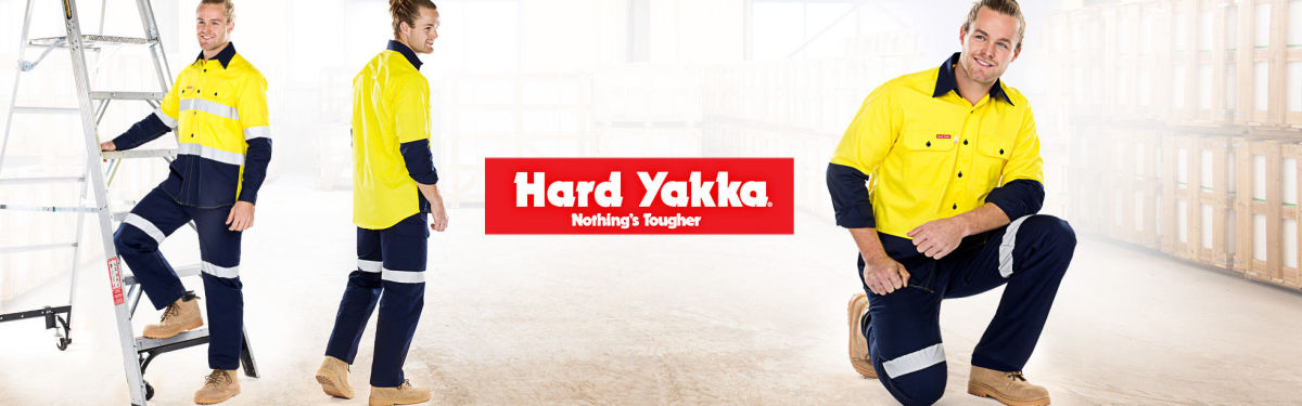 Hard Yakka Shirts & Pants