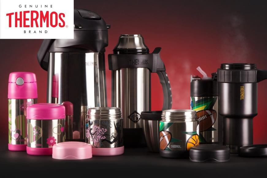 Thermos Drink Bottles, Food Jars & More