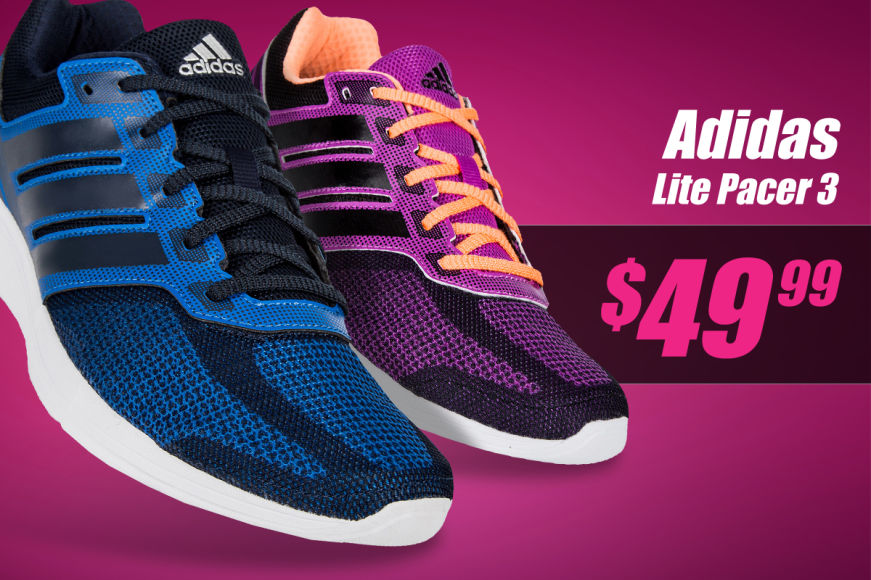 Adidas Adults Lite Pacer 3 Runners