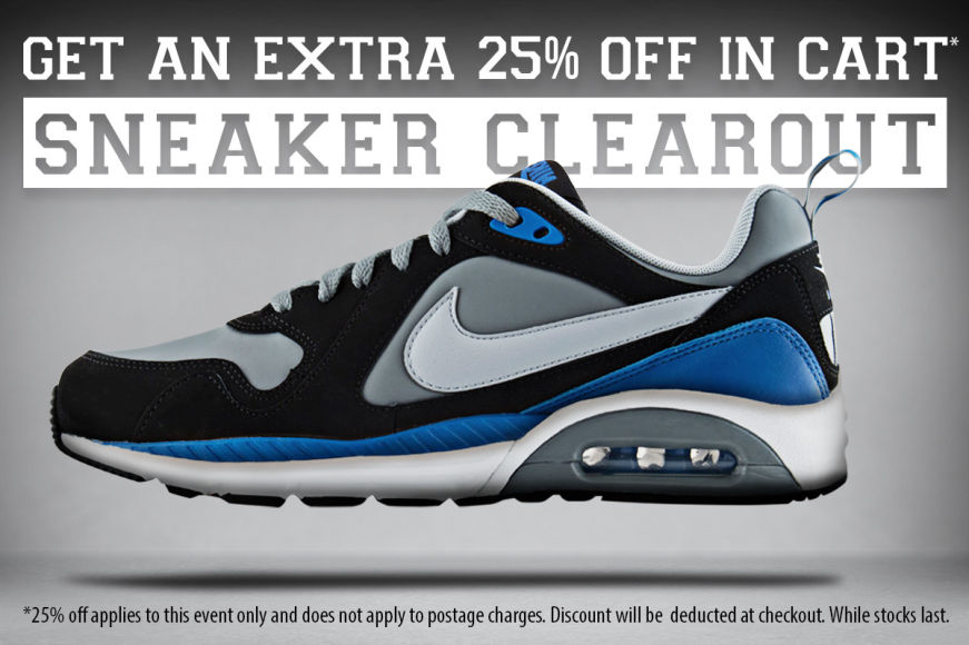 Sneaker Clearout: Get 25% OFF In Cart