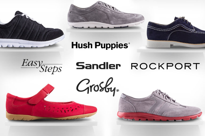 Comfy Footwear For Men & Women