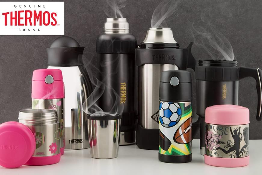 Thermos Flasks, Food Jars & More