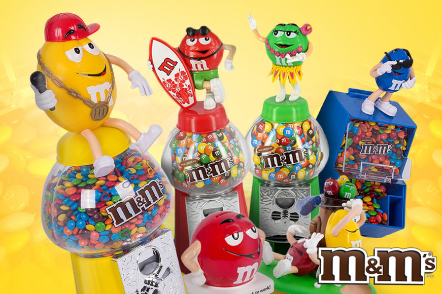 M&M's Collectible Dispensers