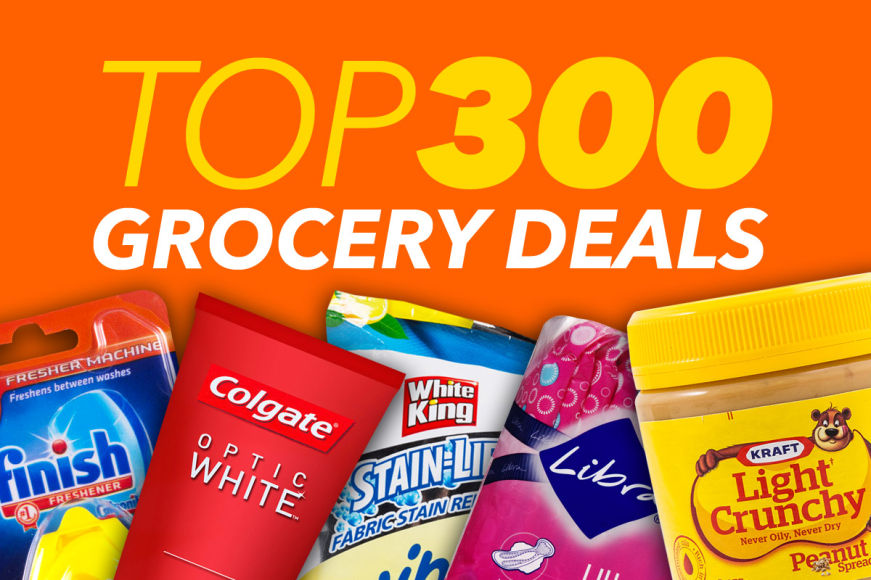 Top 300 Grocery Deals