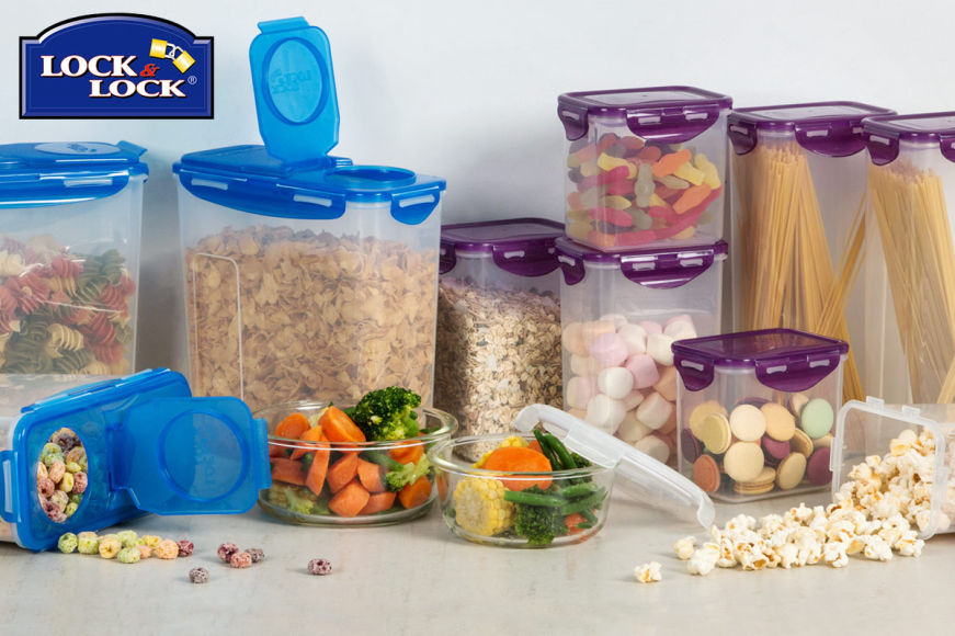 Lock N Lock Glass & Plastic Containers