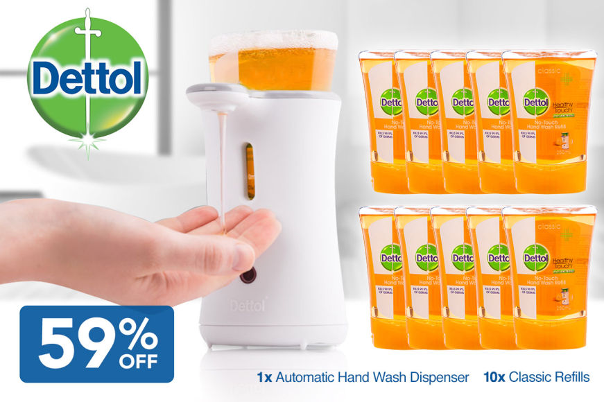 59% Off Dettol No-Touch Pack