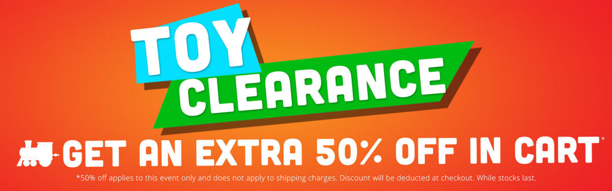 Toy Clearance: Get An Extra 50% Off In Cart!