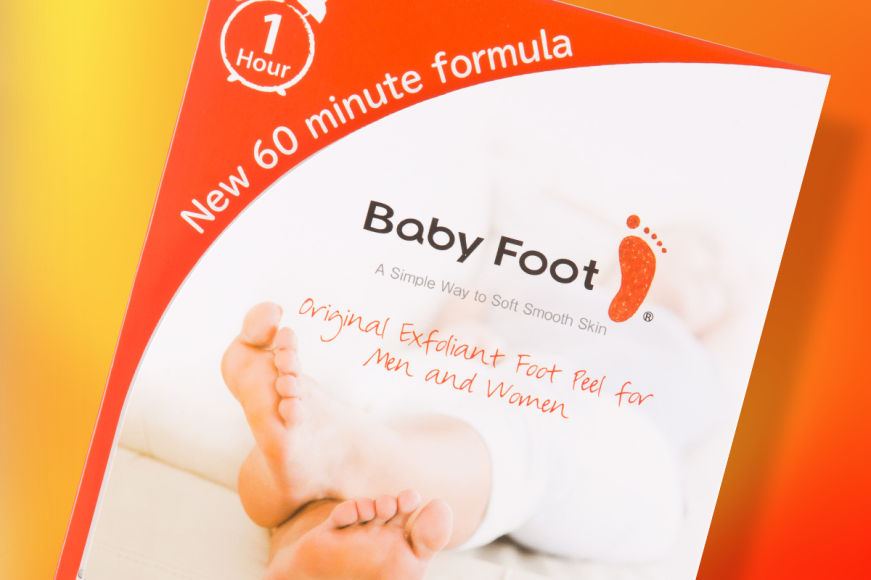 Baby Foot Exfoliant Pack