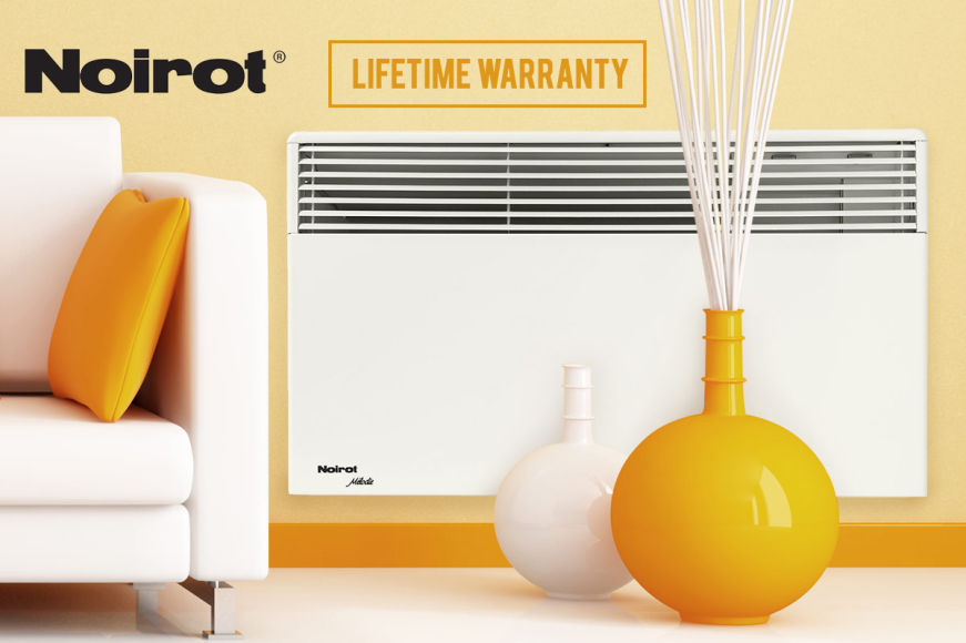 Noirot French-Made Panel Heaters