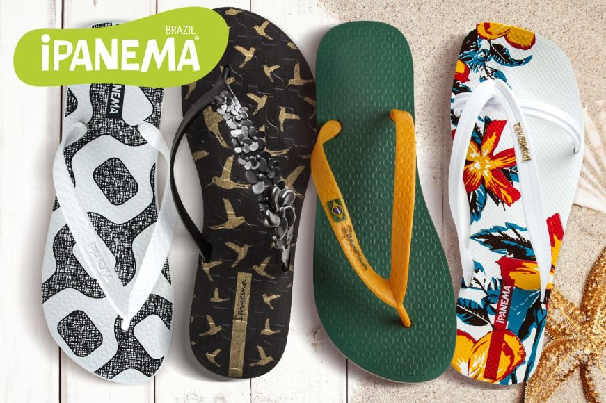 iPanema Thongs For The Whole Family