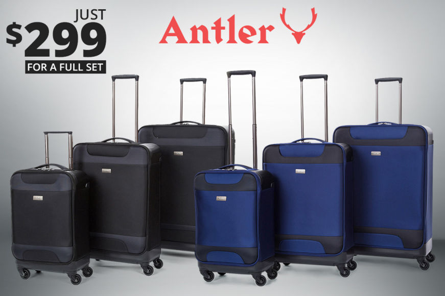 Antler Nimbus 3PC 4-Wheel Luggage Sets