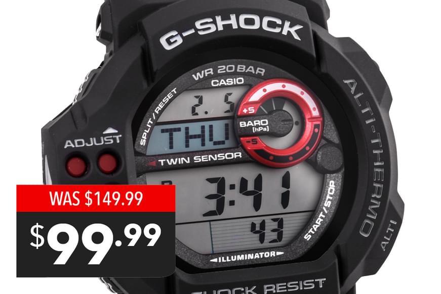 Casio Men's G-Shock Watch - $99.99!