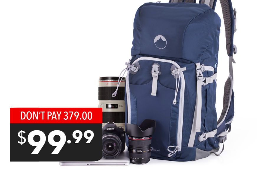 Lowepro Rover Pro 45L Backpack - $99.99!