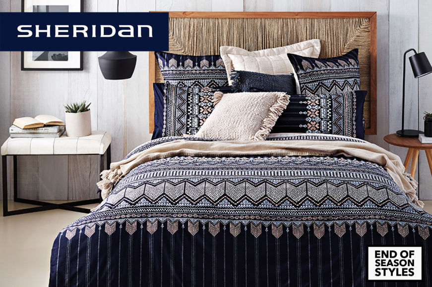 Sheridan Quilt Cover Sets + Pillowcases