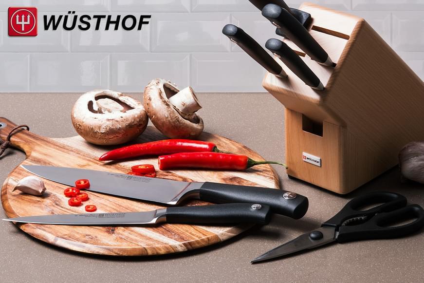 Wüsthof Trident Grand Prix II Knife Block Set