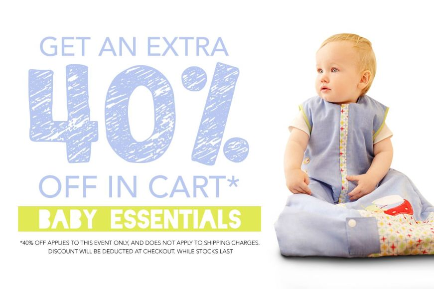 Baby Essentials: Get An Extra 40% Off In Cart!