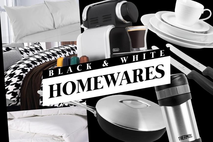 The Black & White Home