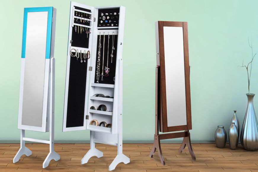 Mirrored Jewellery Cabinets