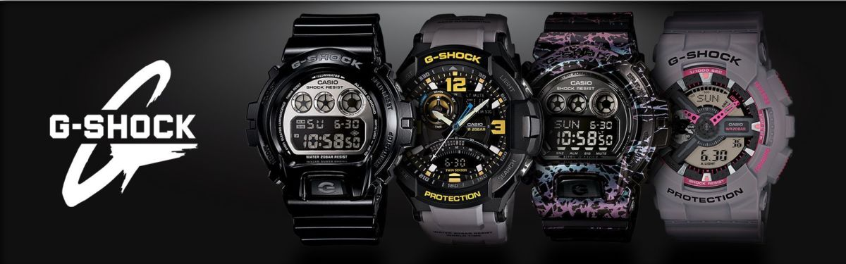 NEW Casio G-Shock Watches Added