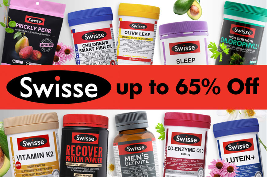 Up To 65% Off Swisse