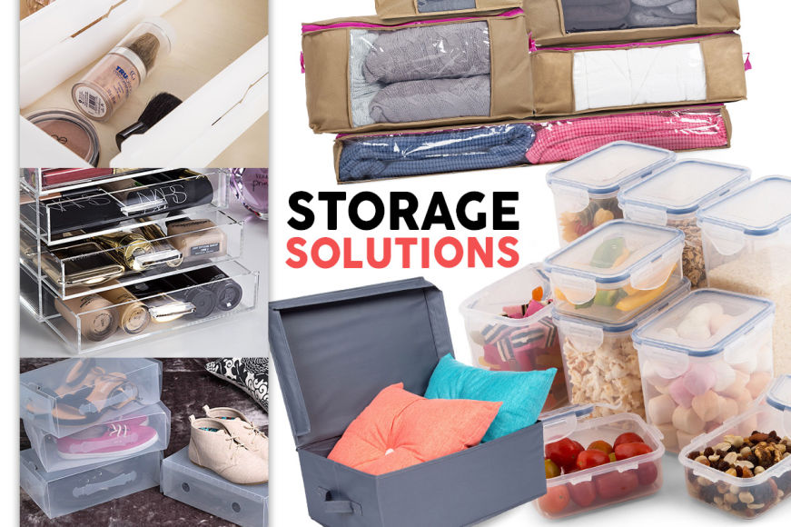 Declutter Sale: Organisers, Storage & More