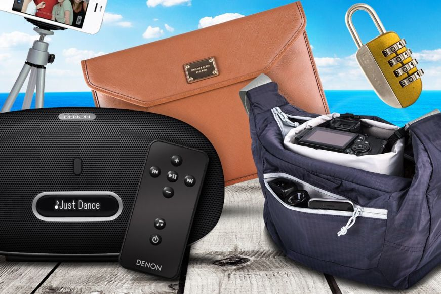 Travel Accessories: Headphones, Locks & More