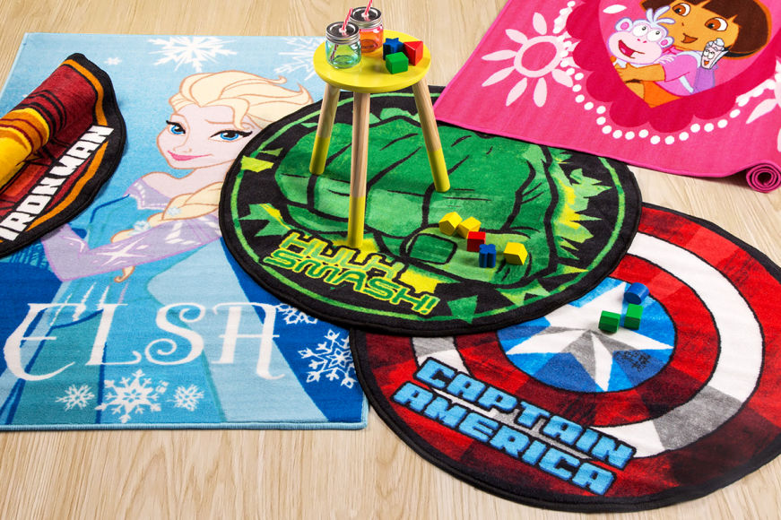 Popular Character Kids' Rugs