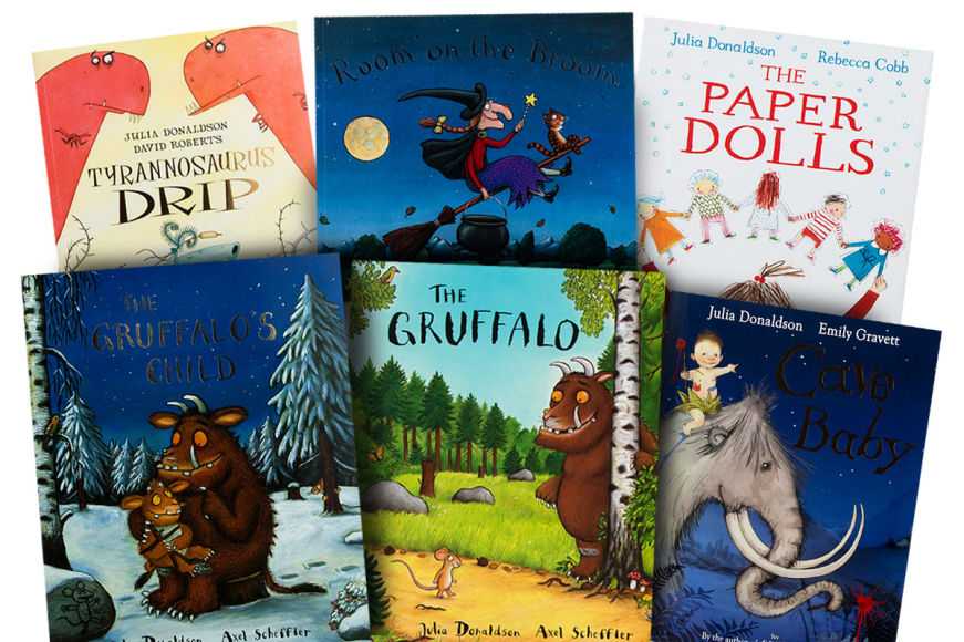 The Julia Donaldson Kids' Book Collection