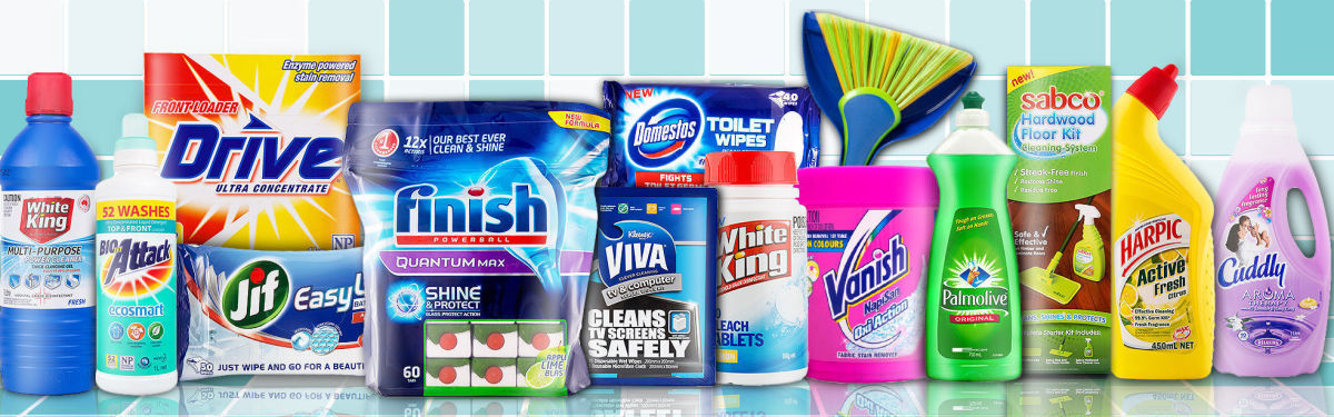 Massive Cleaning & Laundry Sale