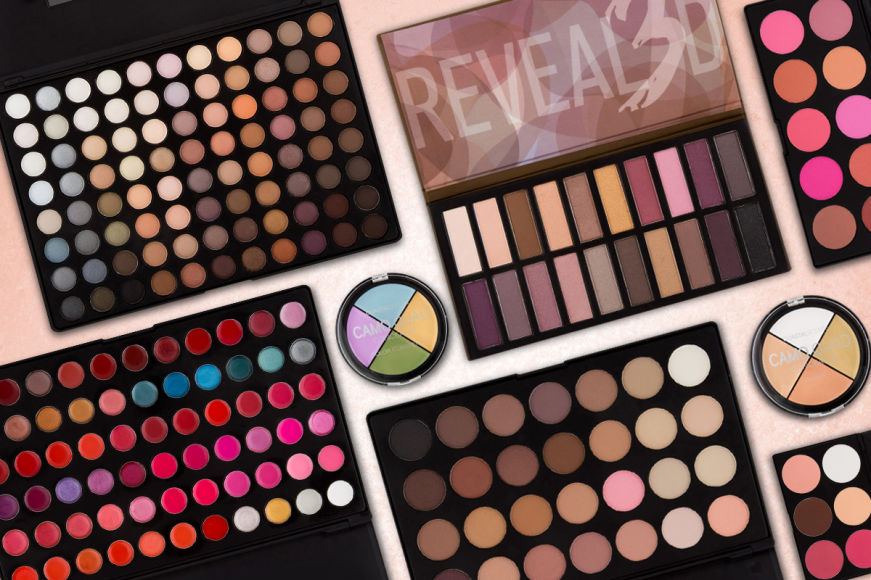 Coastal Scents Makeup Palettes & Quads