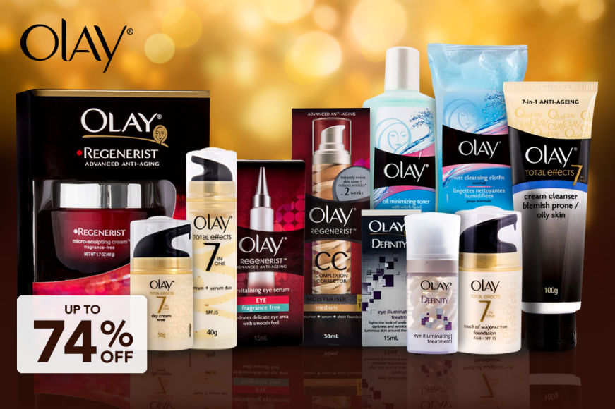 Up To 74% Off Olay Skincare