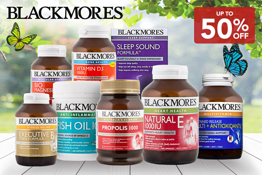 New Blackmores Vitamins