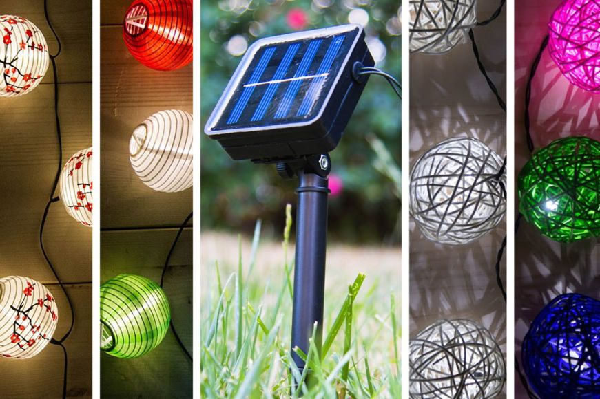 Solar String Lights For Alfresco Nights