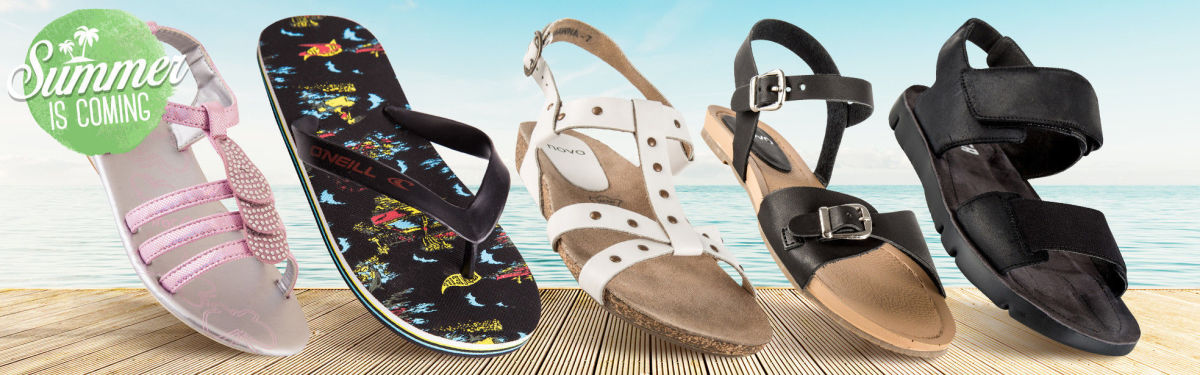 Summer Is Coming - Sandals & Thongs