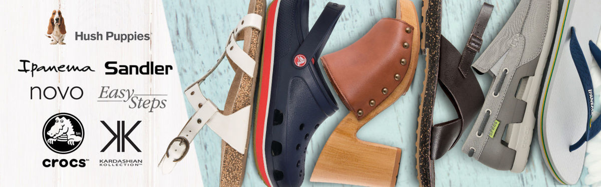 Summer Footwear: All The Big Brands