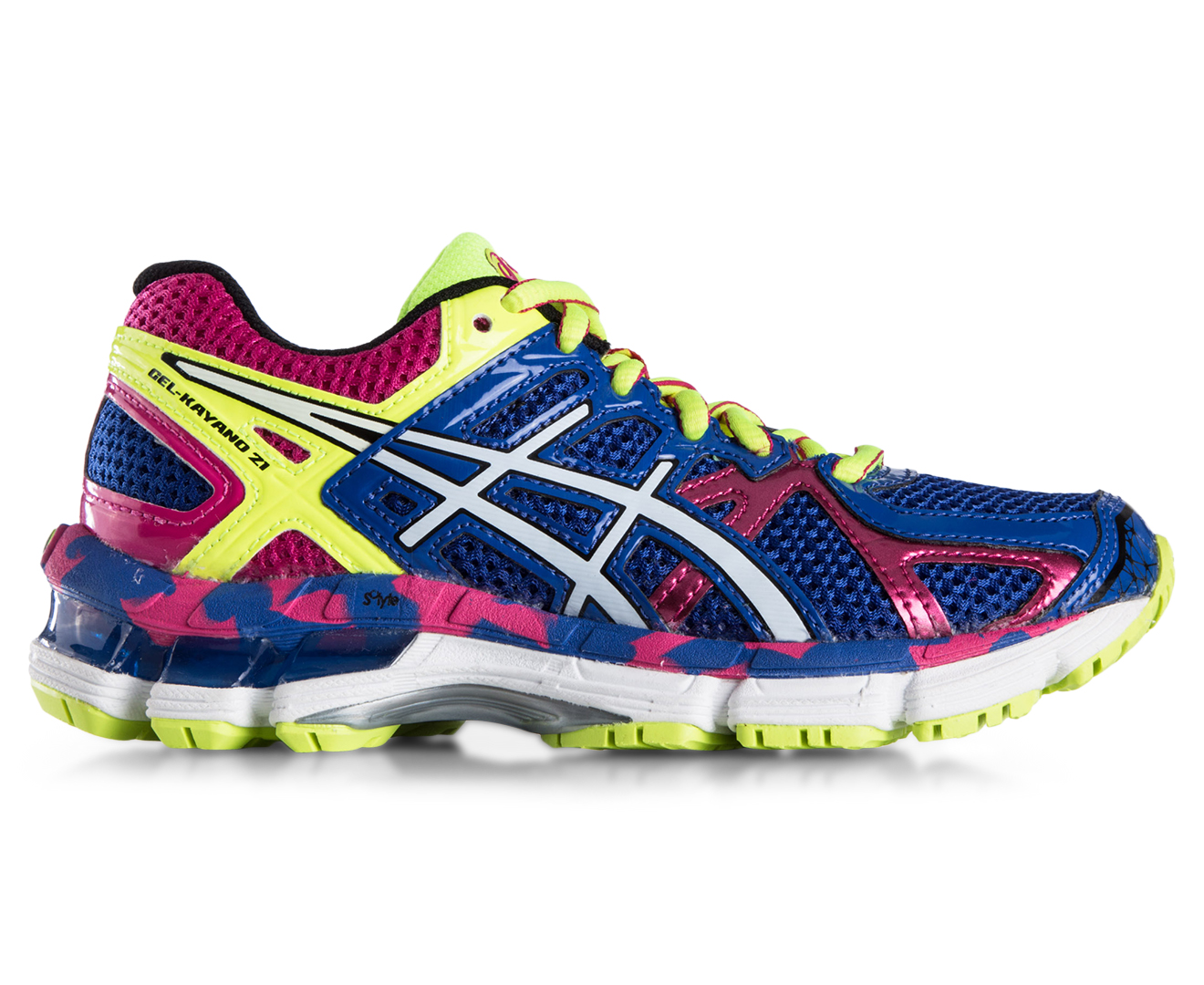 asics gel kayano 16 deepblue