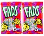 2 x Fads Fun Sticks 6pk 1