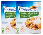 2 x Weight Watchers Fruit & Fibre Tropical Cereal 450g 1