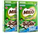 2 x Milo Cereal 350g 1