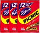3 x Cadbury Picnic Sharepack 228g 4