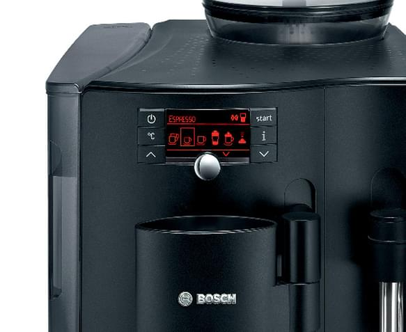 bosch verobar 100 fully automatic coffee machine black. Black Bedroom Furniture Sets. Home Design Ideas