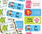 Personalised Kids' Name Labels - 42-Pack 3