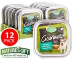 12 x Nature's Gift Chicken & Veg For Dogs 100g 1