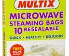 2 x Multix Microwave Steaming Bags 10pk 2