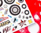 Stencil Art Portfolio - Motorcycle Madness 3
