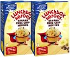 2x White Wings Lunchbox Heroes Banana Choc Chip Muffins 455g 1