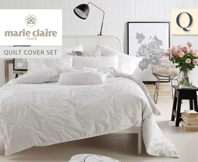 Catchoftheday Com Au Marie Claire Madelene Queen Quilt