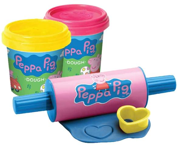 Peppa Pig Peppa S Birthday Cake Dough Play Set